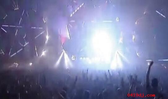 欧美最嗨最华丽的大型电音DJ万人现场派对