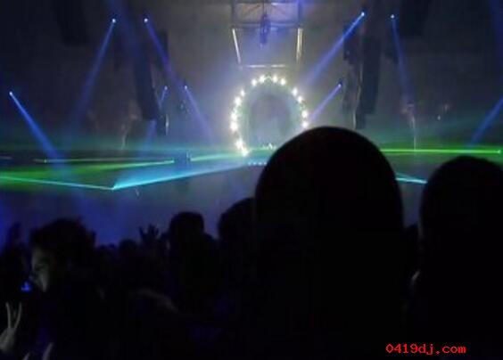 欧美绝对让你震撼的超大型DJ电音万人现场派对
